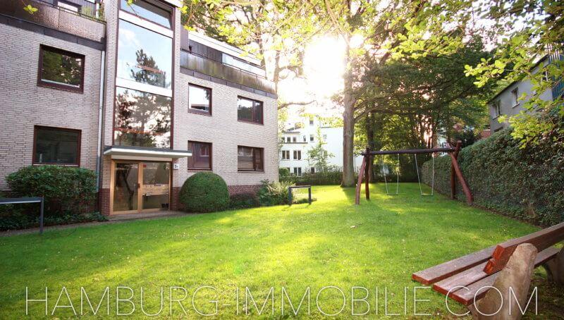 Ansicht Mehrfamilienhaus in Hummelsbüttel