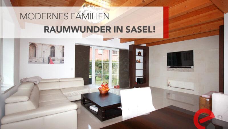 Wohnzimmer Endreihenhaus in Sasel