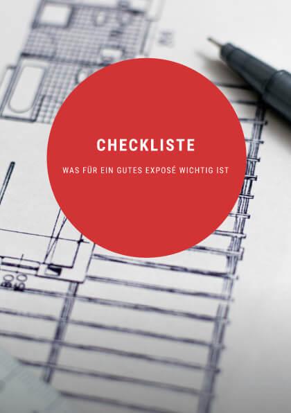 Checkliste für ein gutes Expose