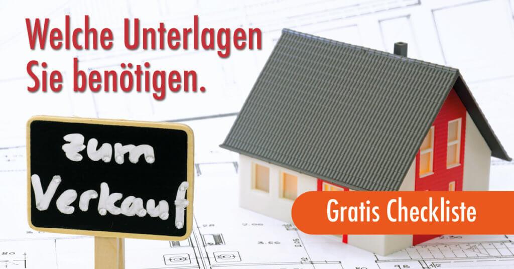 Checkliste, Verkaufsunterlagen Immobilienverkauf, HAMBURG IMMOBILIE