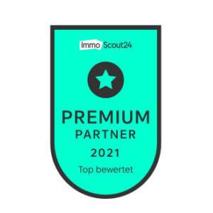 Erneute Auszeichnung für2021 für besondere Leistungen von ImmoScout24